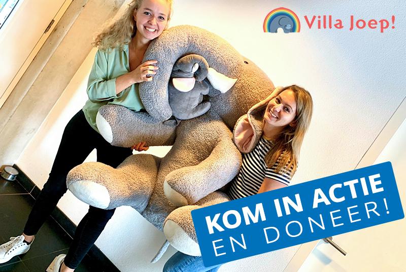 ACA komt in beweging voor stichting Villa Joep!